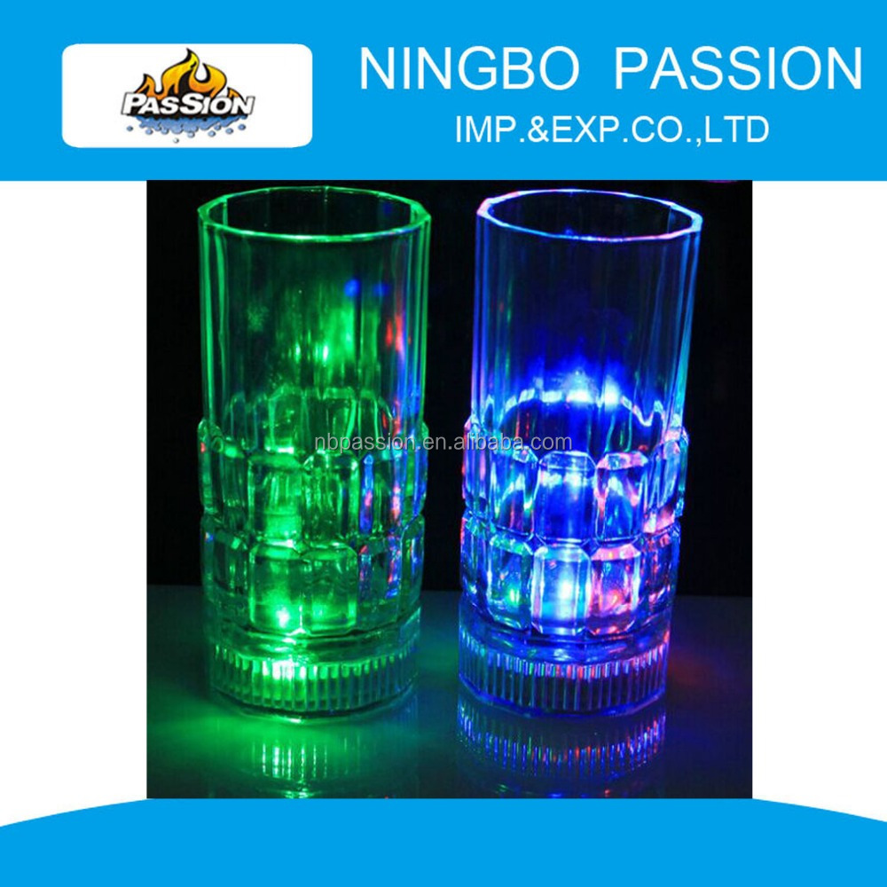 CUP003 Fashion water Induction led flash cup / party light cup / color change cup
