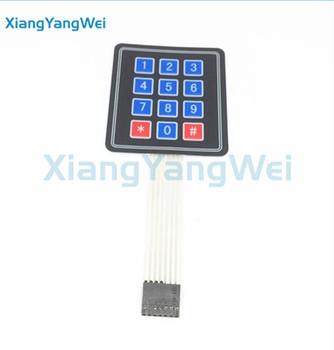 4*4 4x4 Matrix Array Keyboard 16 Key Membrane Switch Keypad Diy Starter Kit  - Buy Keypad Membrane Switch,Membrane Switch 4*4,4x4 Keypad Product on