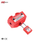China Lockout Supplier Safety Socket Lock Electrical Safety Lockout Tagout For 220V / 500V Plugs
