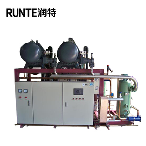 cheap price oil free screw air compressor for small cooling system