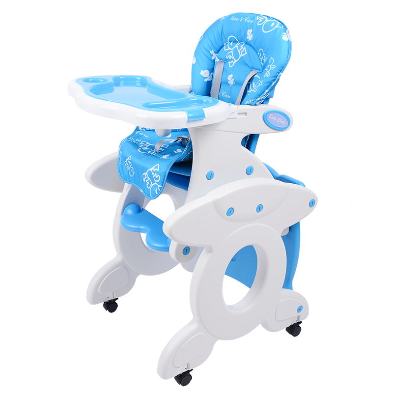 Buy 6months 3 Years Multifunctional Plastic High Chairs For Feeding Booster  Seat Dining Table Seats With Wheels Rocking Horse In Cheap Price On  M.alibaba. ...