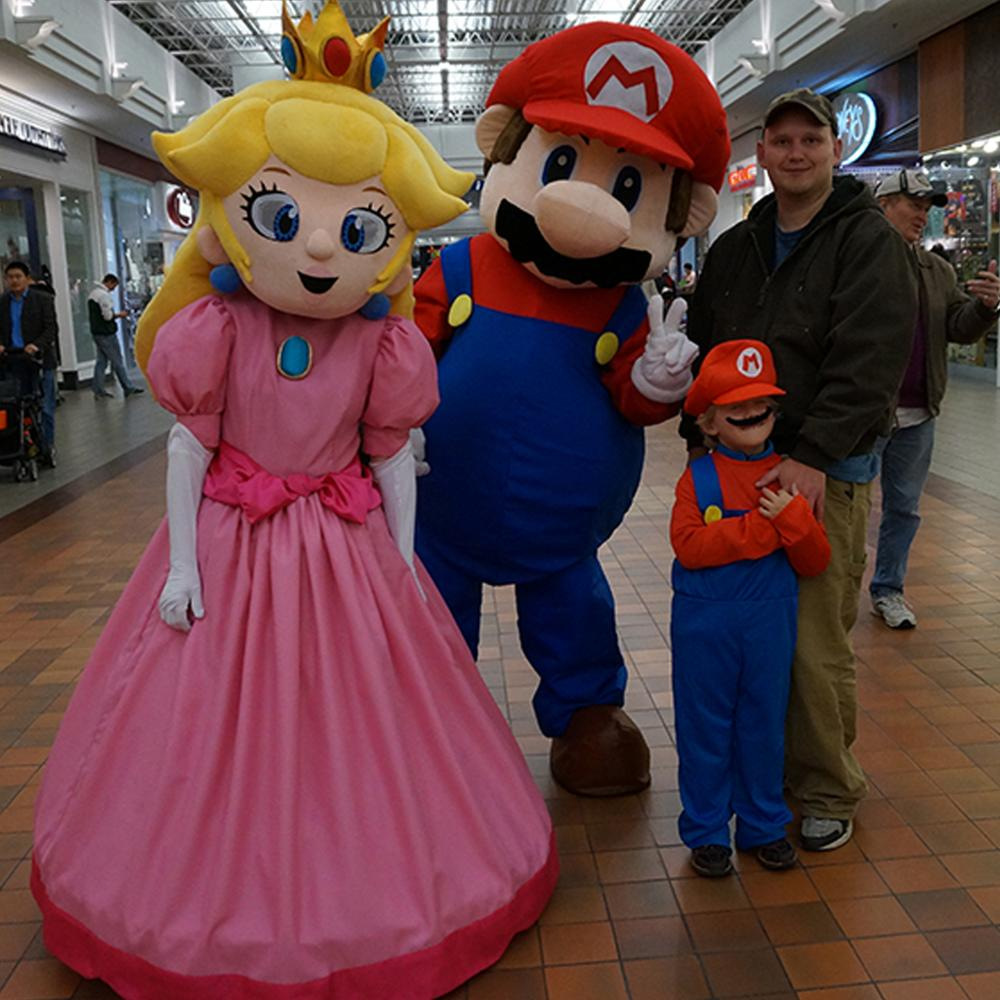 Funny Peach Princess And Super Mario Mascot Costume For Sale Buy Mascot Costume Peach Princess And Super Mario Mascot Costumes Super Mario Mascot