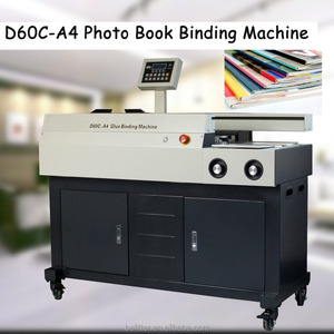 D60C-A4 High quality perfect book binding machine