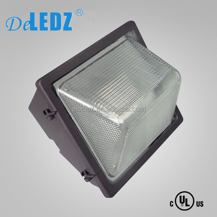 Outdoor wall light WES30 aluminum square 30w IP65 outdoor led wall pack light with Meanwell driver
