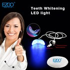 Teeth whitening led light with mouth tray attached for mobile phone