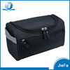 Custom high quality waxed canvas mens toiletry bag with canvasleather handle