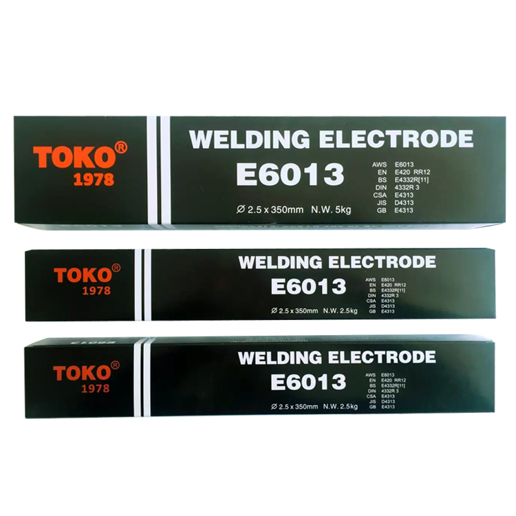 NON-SMOKE WELDING RODS AWS E6013