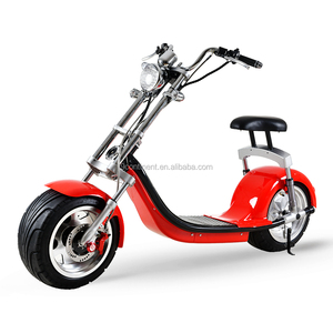 New product big wheel fat tire citycoco scooter electric