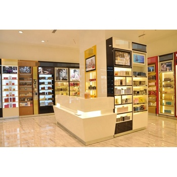 Perfume Display Cabinet Showcase Shop Decoration