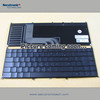 Hot sale Laptop keyboard for Dell Inspiron 15 7000 7537 7737 Russian Silver backlit