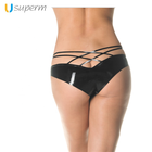 Hot Shape Black Women Knickers Sexy Latex Catsuit Shorts Rubber Briefs Girls Latex Catsuit