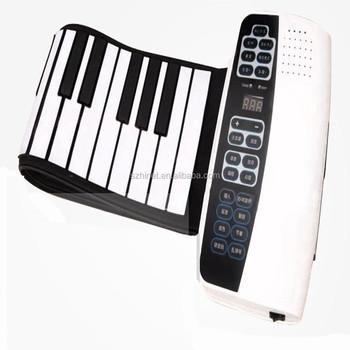 88 Keys Electronic Organ Keyboard 2015best-selling Electronic Piano Organ  With Midi 88-key Digital Usb Roll-up Soft Silicone - Buy 88 Keys Electronic