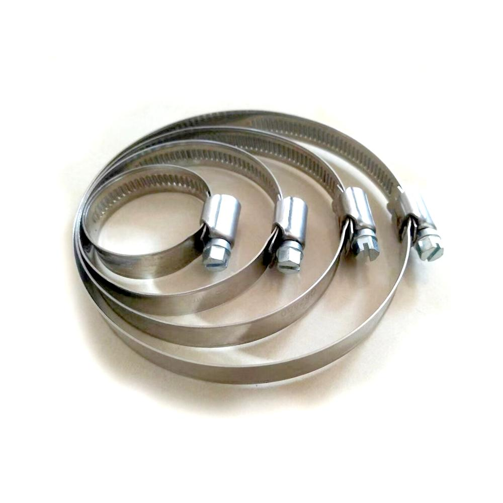 22mm to 32mm blue band stainless steel adjustable helical drive hose clamp