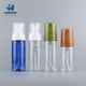 Custom size colored plastic shampoo cosmetic skin care packaging lotion spray foam pump bottle