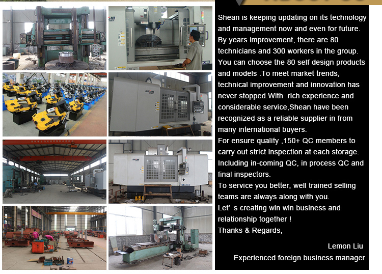 Metal Cutting Band Saw Machine for Stainless Steel or Various Metal