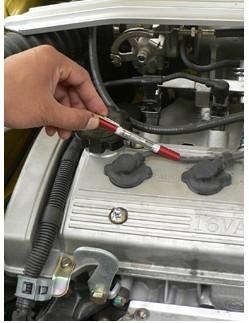 Автоматический автомобиль тест тестер свечи зажигания провода катушки диагностический инструмент свеча зажигания индикатор D-1895