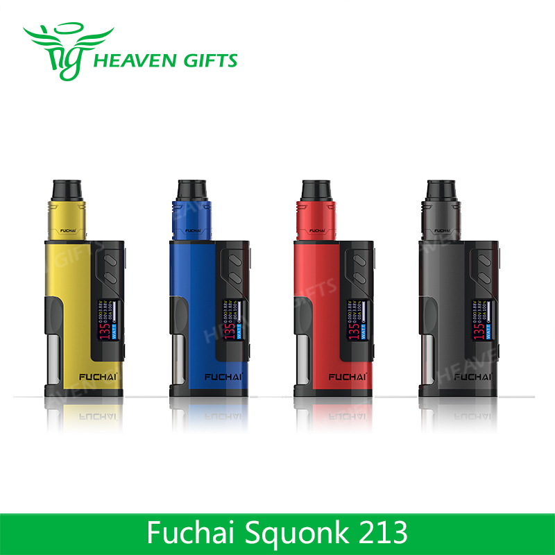 Factory Price Fuchai Squonk 213 kit from Heaven Gifts Sigelei Fuchai Squonk 150W BOX MOD