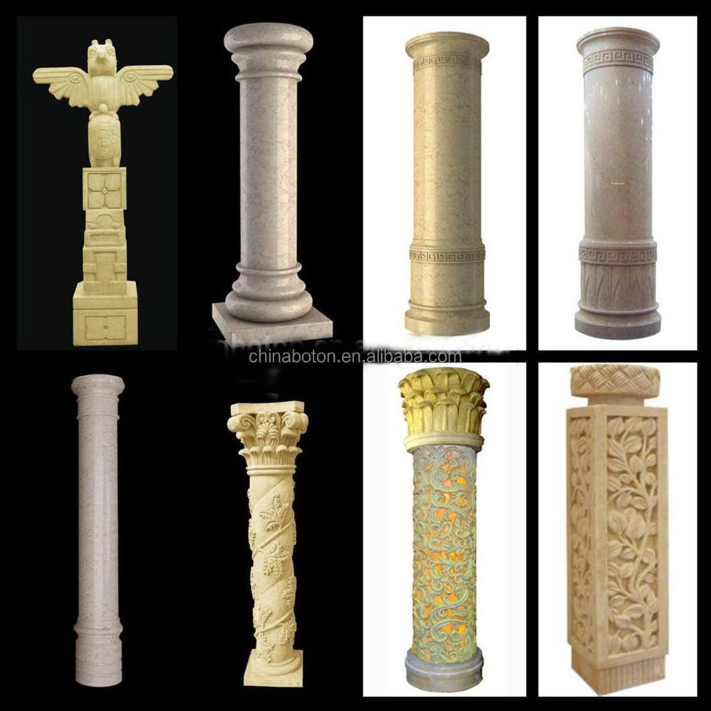 Building Stone Pillars : Europe morden roman pillar stone pillars tiles for