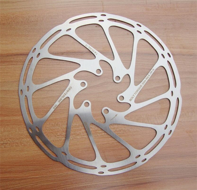 Bicycle Mechanical Brake System Bike Disc 160MM/180MM For SRAM Brake Disc
