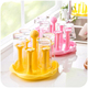 New products plastic dish rack Plastic Cup Hanger Drying Rack