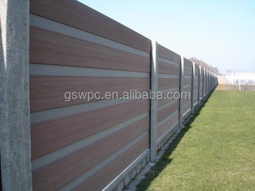 Hekwerk Hout Tuin : Europese markt hekwerk aluminium frame tuin wpc hout kunststof