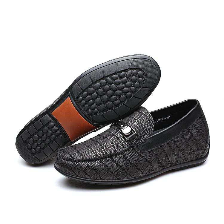 Boat Hidden Increasing Height CF Shoes Men Leather 2018 Handmade XqnXgw0vI