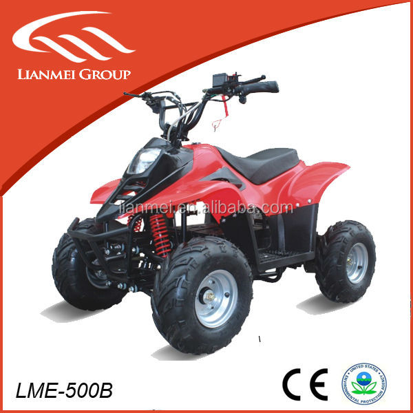 brushless motors 500w atv for kids electric quad bike with CE soprt