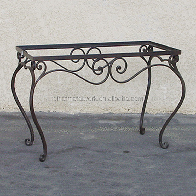 Exceptionnel Decorative Metal Table Base Wrought Iron Table Base For Marble And Wood And  Glass Pedestal   Buy Table Bases For Glass Tops,Modern Glass Table Marble  Base ...