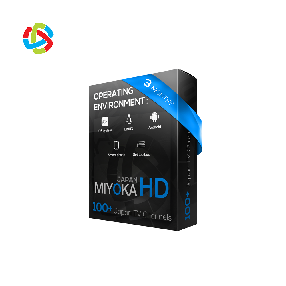 1year Japan IPTV subscription Miyoka265 Channels List for Best 4K Android TV Box
