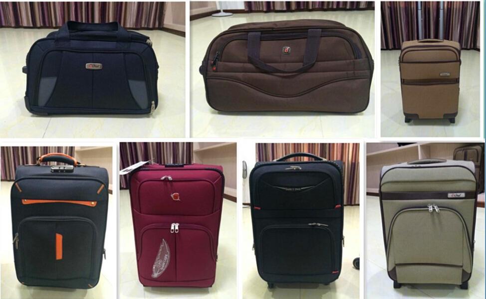 Zhejiang Fabric 600d Nylon Trolley Bag,Eva Luggage,Cheap Luggage ...