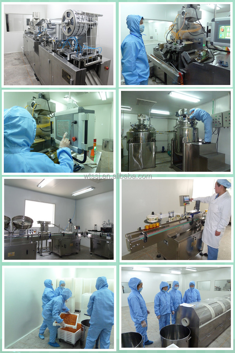 GMP Factory OEM Kinds of Soft Capsules Accept Customer Customization