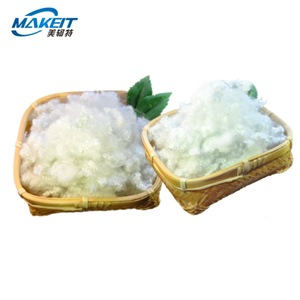 Makeit pet bottles recycle polyester staple fiber making machine