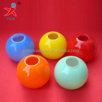 Colored Lamp Shades colored glass ball lamp shades/small color glass lamp - buy