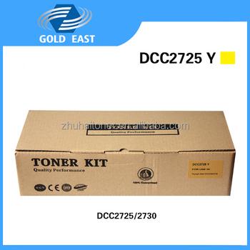 Premium Compatible Toner Cartridge Manufacturer Dcc 2725 Yellow Printer &  Copiers Cartridges For Triumph Adler Dcc2725/2730 - Buy Premium Compatible