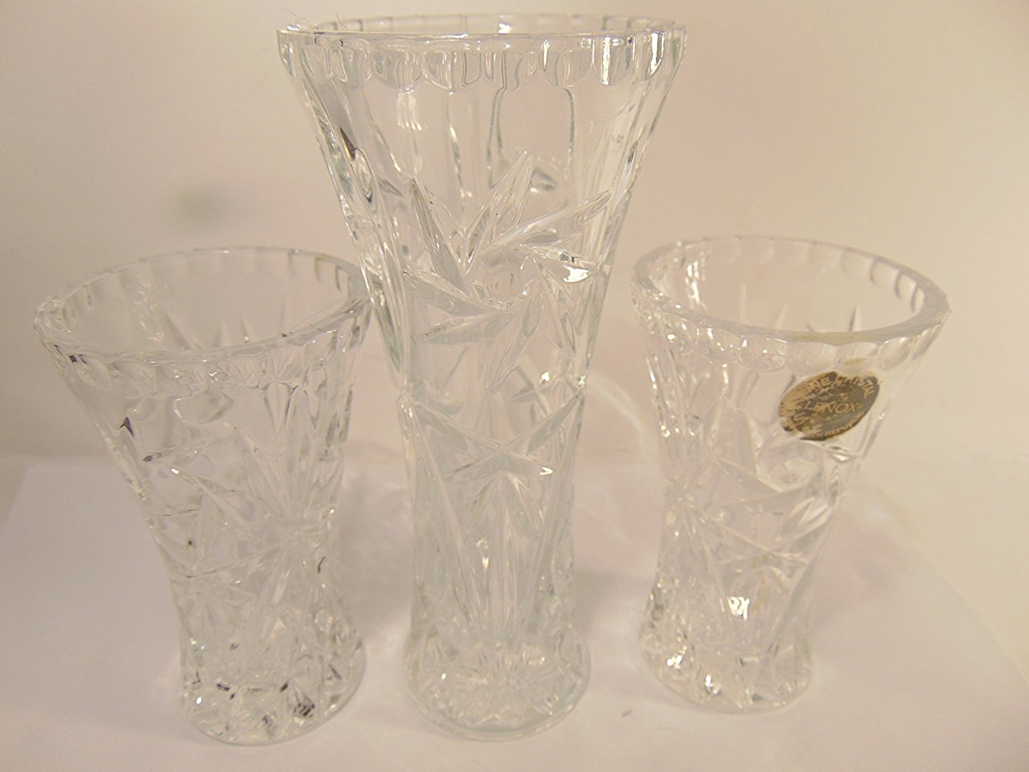 Cheap funky vases find funky vases deals on line at alibaba get quotations lenox fine lead crystal bud vases set of 3 star cut crystal vases reviewsmspy
