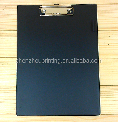 new design PP plastic file folder/clipboard with storage