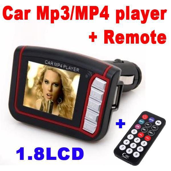 Беспроводной автомобиль практическая Kit MP4 плеер 206 FM ChannelsTransmitter модулятор USB для SD кард-ридер MMC с дистанционным