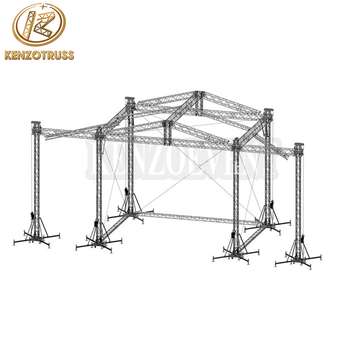 Aluminum Stage Frame Structure Truss System - Buy Stage Frame ...
