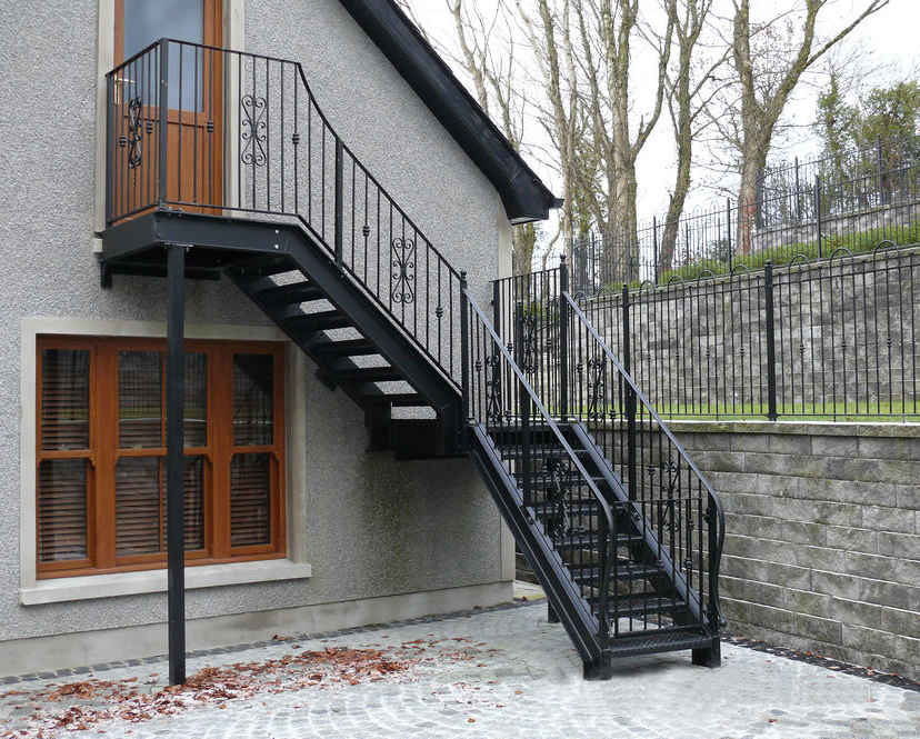 Ordinaire Outdoor Metal Stairs/industrial Metal Stairs/outdoor Iron   Buy Stairs,Metal  Stairs,Outdoor Metal Stairs Product On Alibaba.com