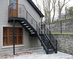 Charmant Outdoor Metal Stairs/industrial Metal Stairs/outdoor Iron
