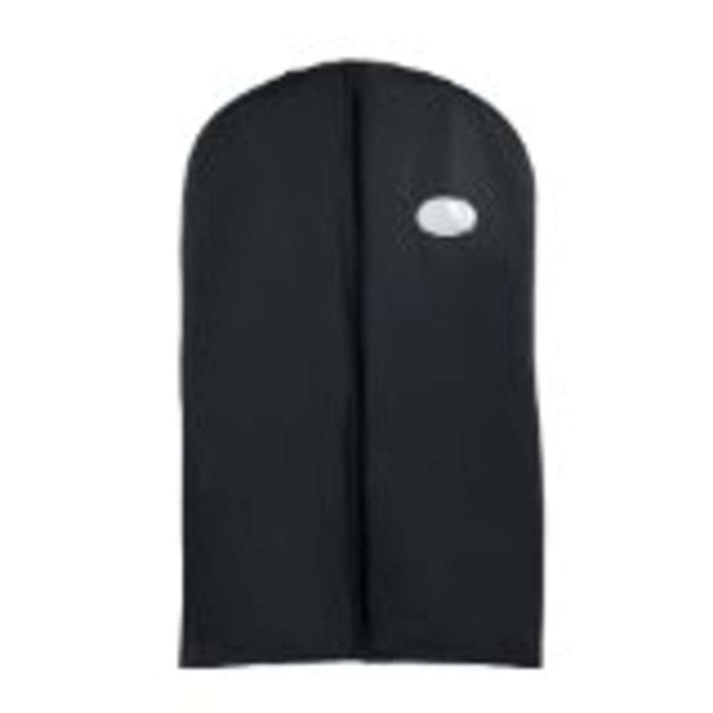 "Tuva Vinyl Gown/dress Garment Bag, 25 Pack, 60"", Black By Tuva Inc."