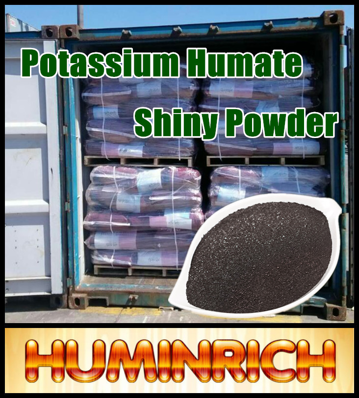 """HuminRich"" Potassium Humate Organic Water Soluble Fertilizer For Melon"