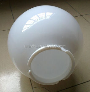 Acrylic Sphere for lampshade white and clear color 200mm 300mm
