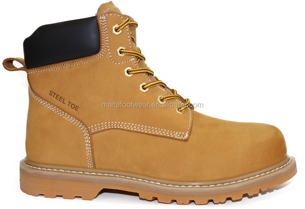 China handmade camel Goodyear safety footwear/shoes/boots for workman