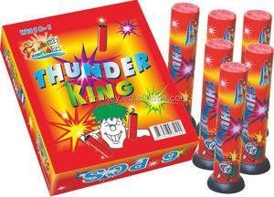 Single Shot shells fireworks , Thunder King Cracker fireworks
