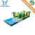 Commercial Grade Dual Lane Tropical Slip N slide With Pool