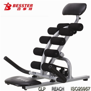 Js-006b Ab Crunch Sit Up Bench Used Sports And Fitness Equipment ...