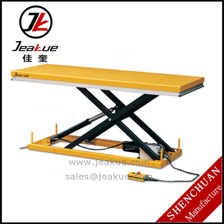 500 kg grande plate forme hydraulique ciseaux lectrique moto table l vatrice vendre tables. Black Bedroom Furniture Sets. Home Design Ideas
