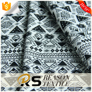 Most popular item Africa print knit fabric cotton fabric