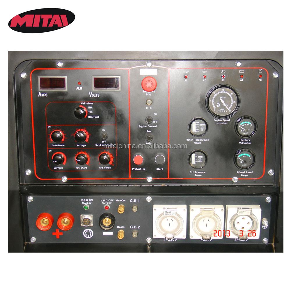 Electric Start 1000a Dual Welder Welding Machine - Buy Orbital ...